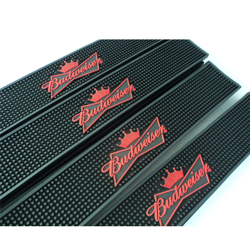 Soft Plastic Logo Bar Mats