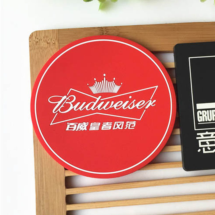 Red Drink Coasters